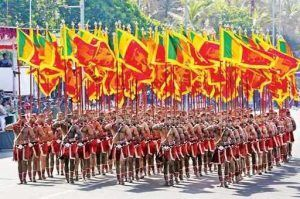 Sri Lankan Flags on Independance day